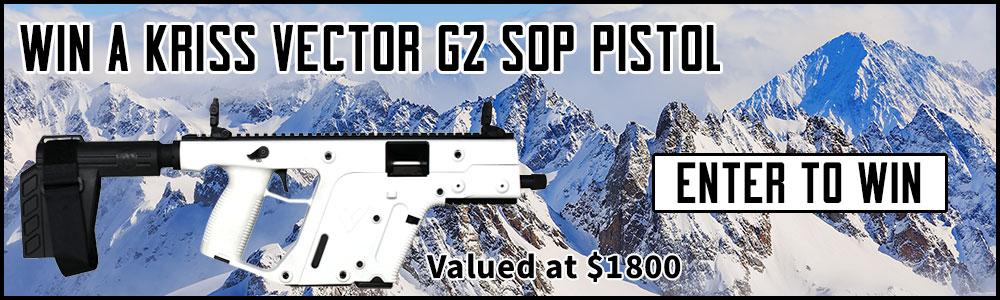 Win A White Kriss Vector G2 SDP Pistol
