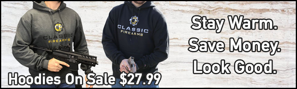 Shop Classic Firearms Hoodies