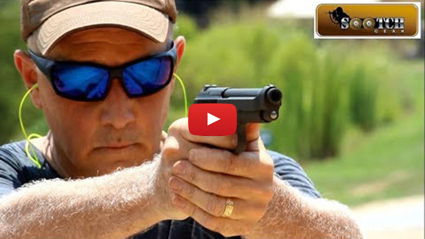 Beretta M1951 9mm Semi-Auto Pistol with 1 Mag, 8rd, NRA
